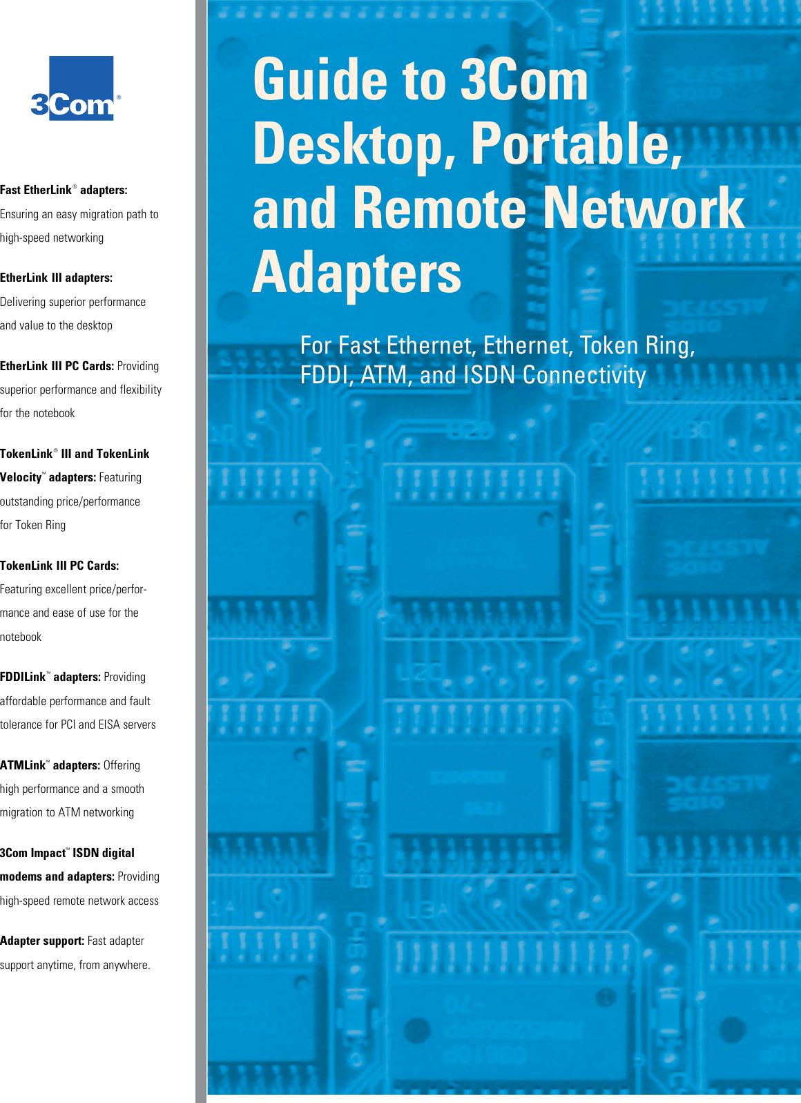 3Com Etherlink 3 Network Adapter 3C592-COMBO