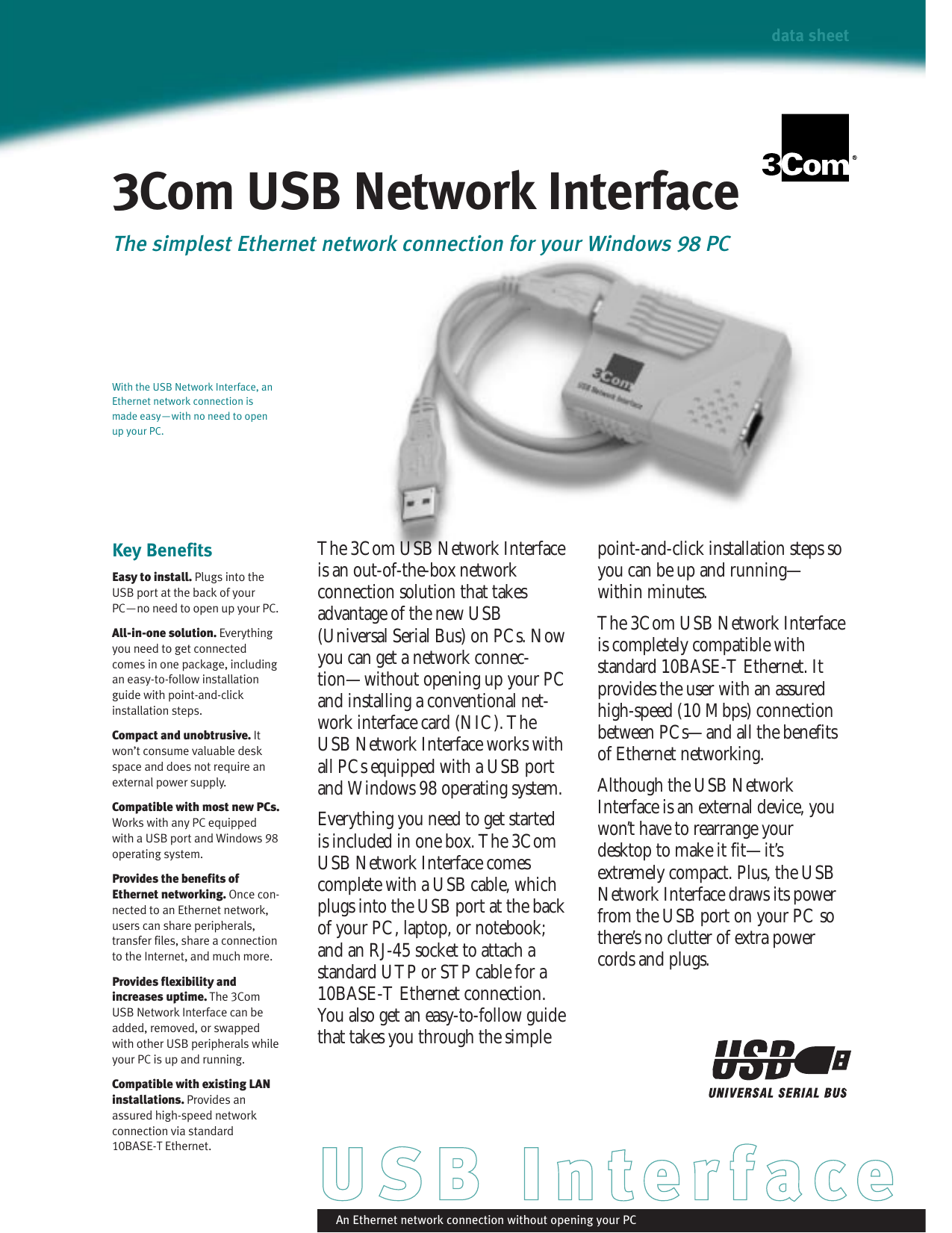 3COM USB NETWORK INTERFACE DRIVER FOR WINDOWS DOWNLOAD
