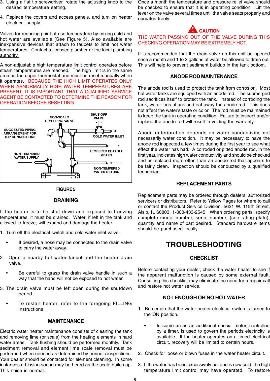 A O Smith Del Owners Manual DEN Man 195201 000 0704.p65