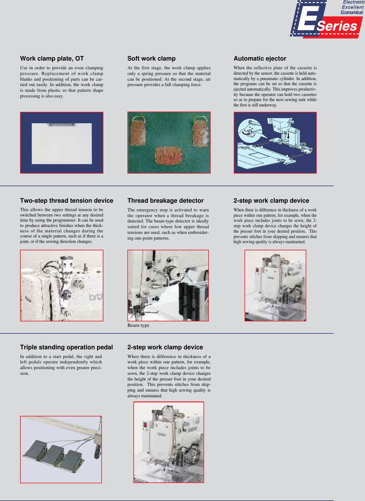 ACE&EASTMAN Bas 300E Series Brochure E)BAS 341E†E342E(02 3