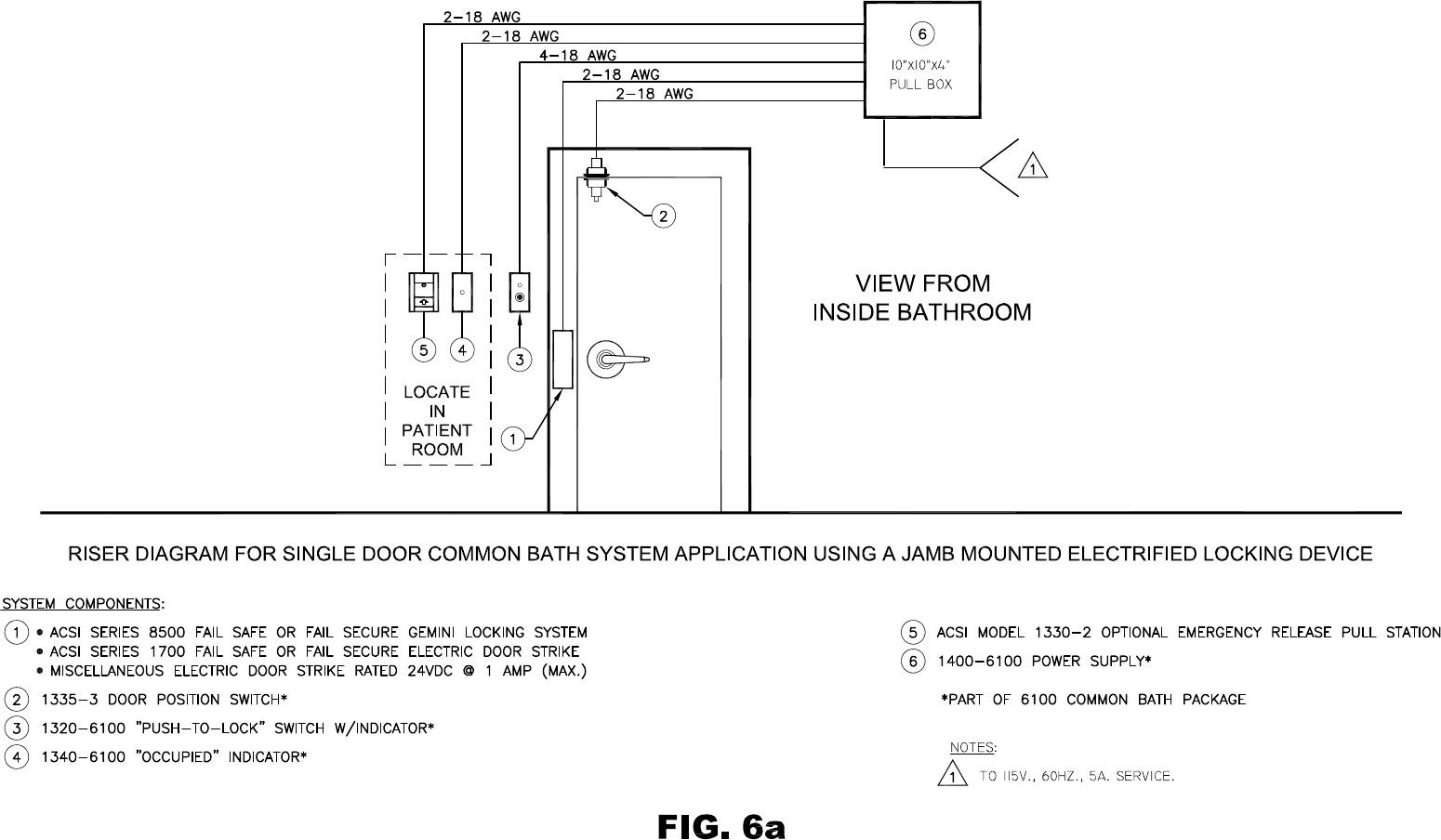 Adams Rite 7400 Wiring Diagram Regarding Cute Electric Strike X10 The Hes Series Securityinfowatchcom Knock Sensor Harness