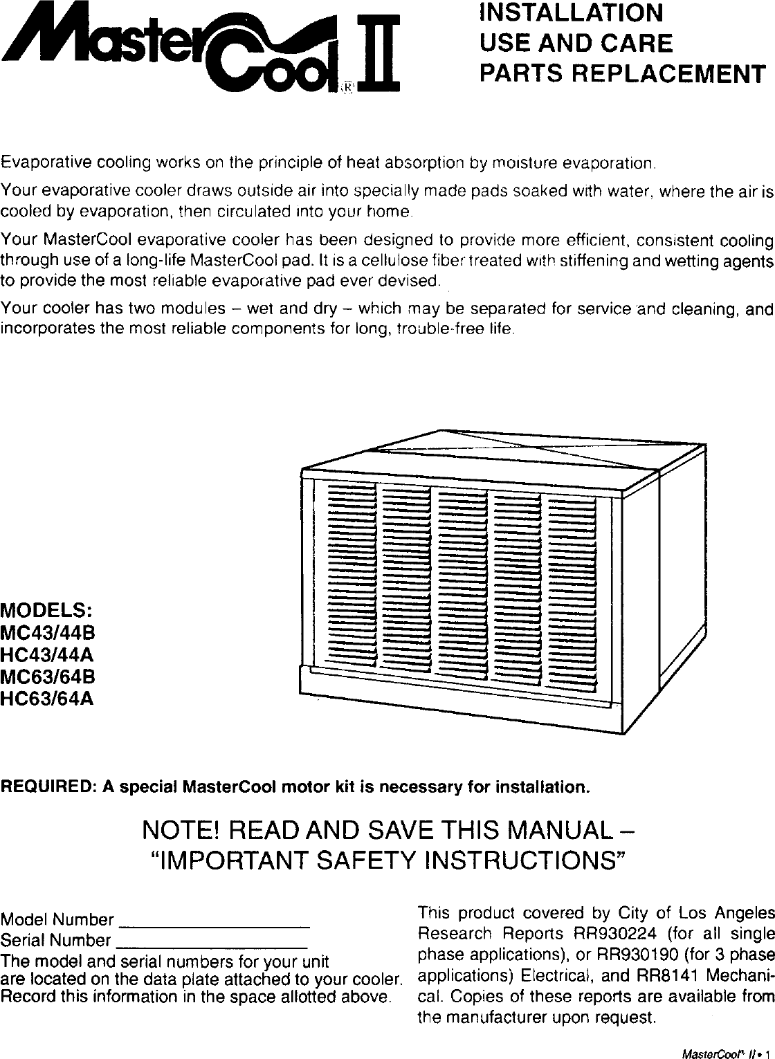 Download Mastercool Motor Wiring Diagram