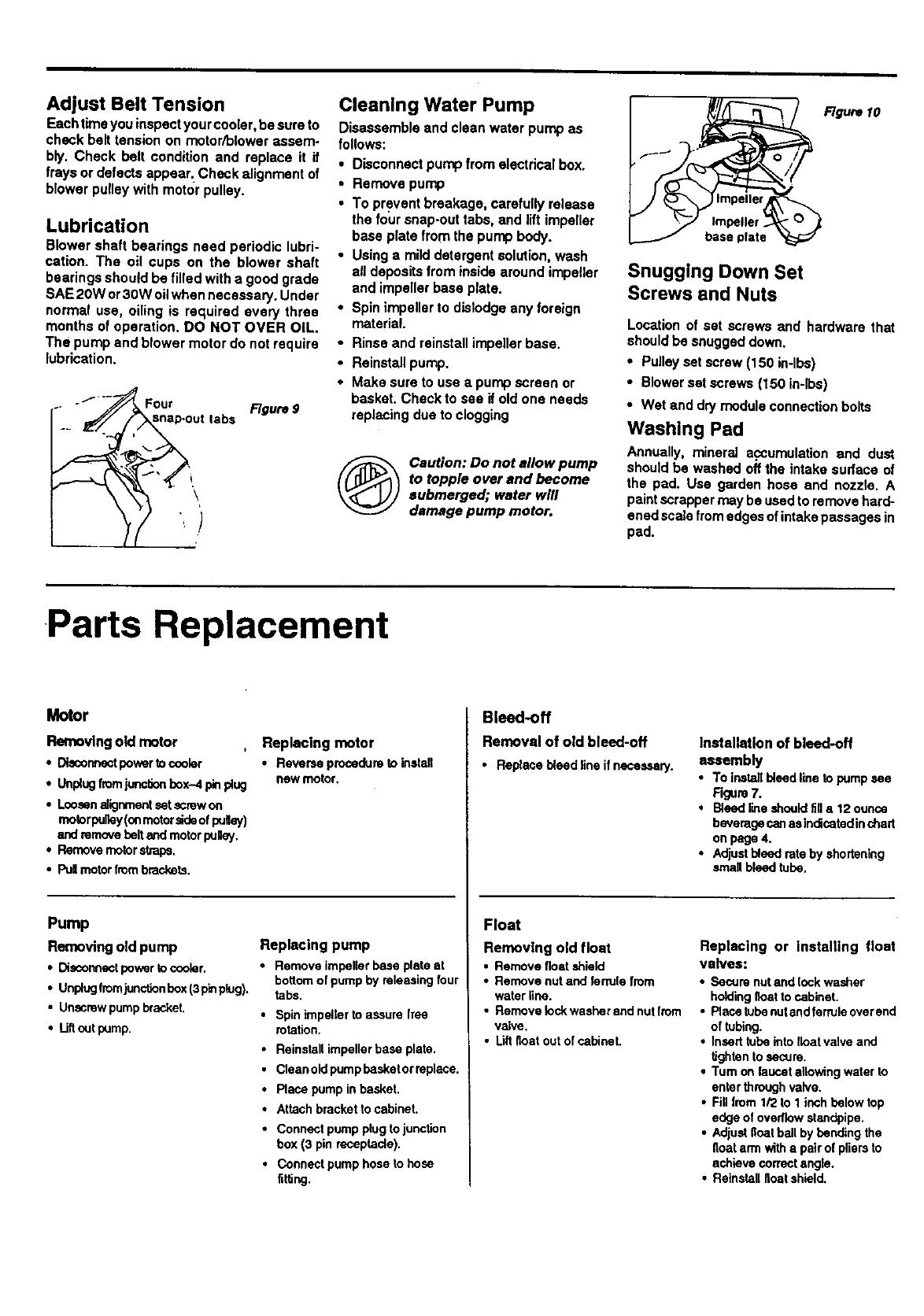 ADOBEAIR Evaporative Cooler Manual L9070130