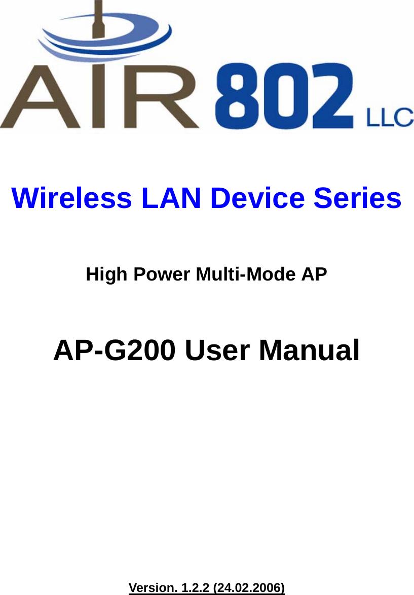 AIR802 AP-G200 DRIVERS FOR MAC DOWNLOAD