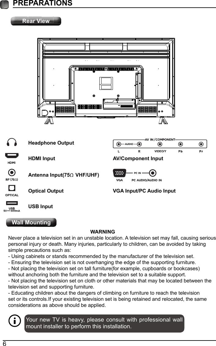 ANHUI KONKA ELECTRONIC E2SW5018 LCD TV User Manual E2SW5018