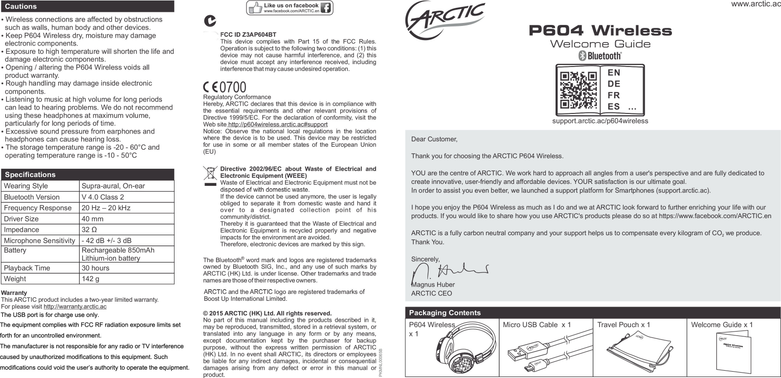 arctic p604bt dynamic bluetooth 4 0 headphones user manual welcome rh usermanual wiki arctic spa user manual arctic spa user manual