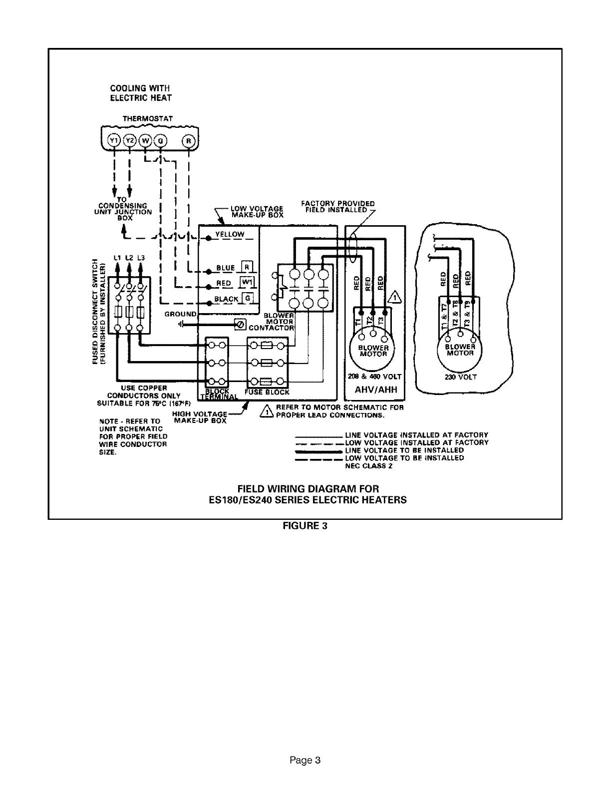 air armstrong air handler auxiliary heater kit manual l0805595 on air  handling unit diagram,