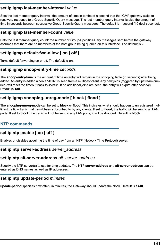 ARRIS Group NVG589 VDSL Gateway User Manual NVG589