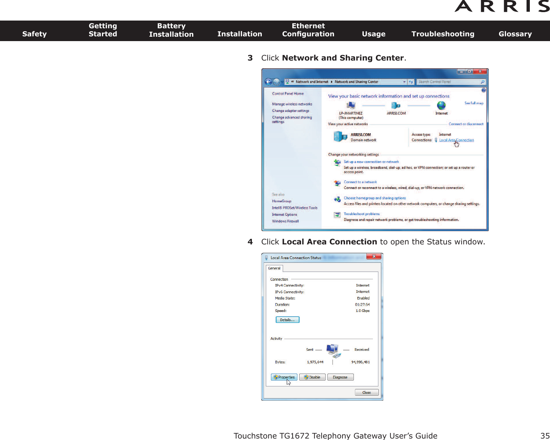 shaw arris gateway user manual