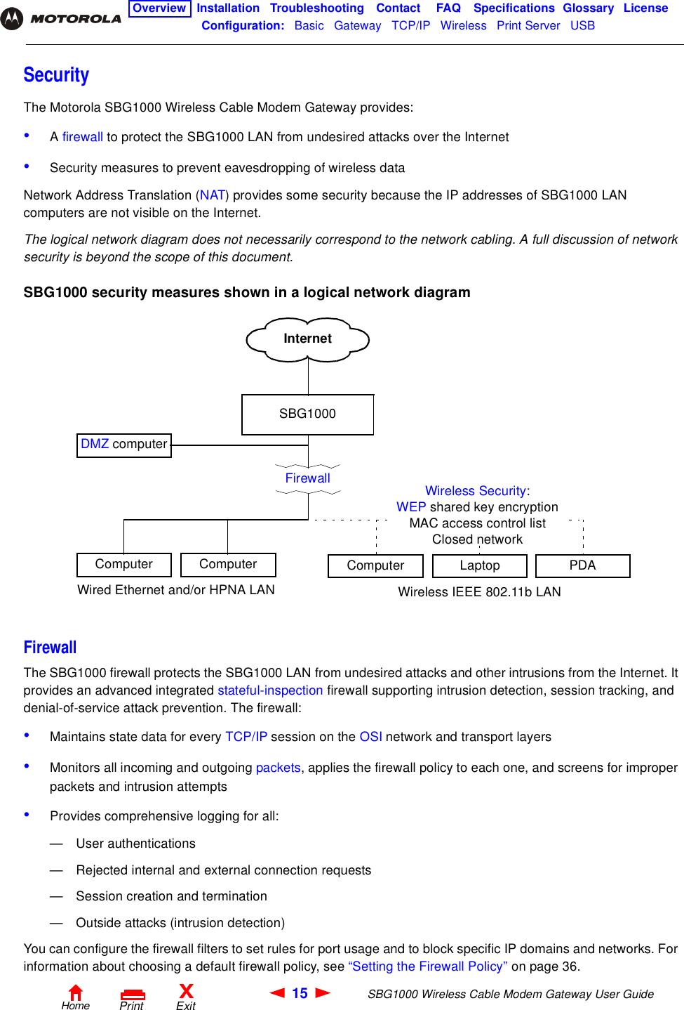 block diagram wireless communication system arris sbg1000 1 cable modem gateway user manual master