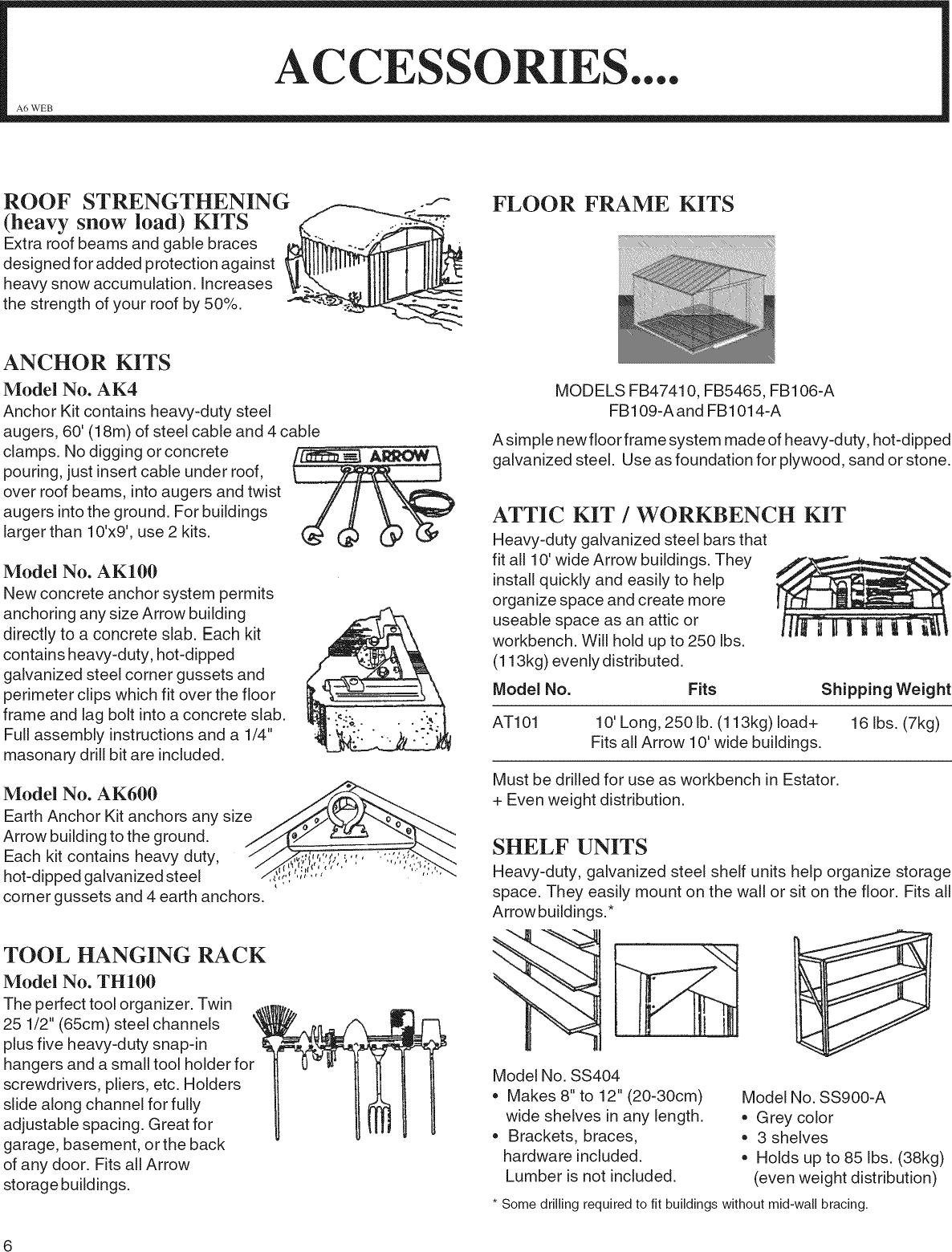 ARROW Building Manual L0903189