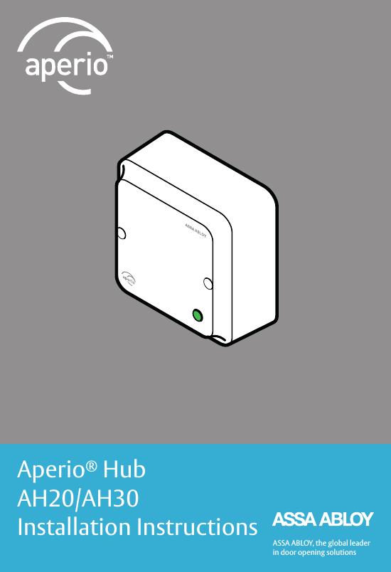 [SCHEMATICS_4NL]  ASSALOY AH20R02 Wireless Communication Hub User Manual | Aperio Wiring Diagram |  | UserManual.wiki