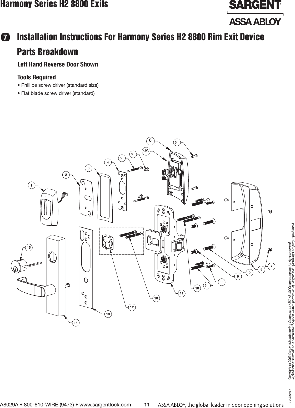 ALOY SCYPROX2 Harmony H2 Series Lock User Manual FCC Part 15 on