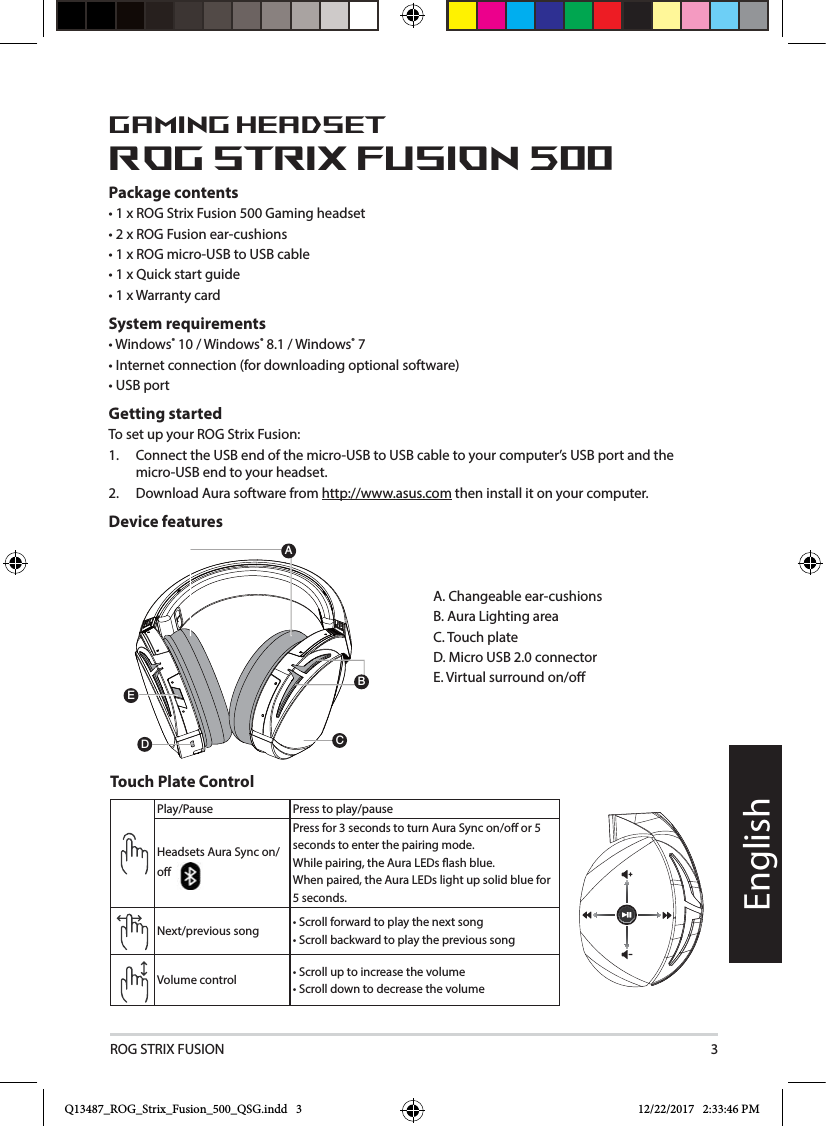 Asustek Computer Rogstrixf500 Rog Strix Fusion 500 Rgb 71 Gaming Asus Usb Cable Wiring Diagram 3englishgaming Headsetrog 500package