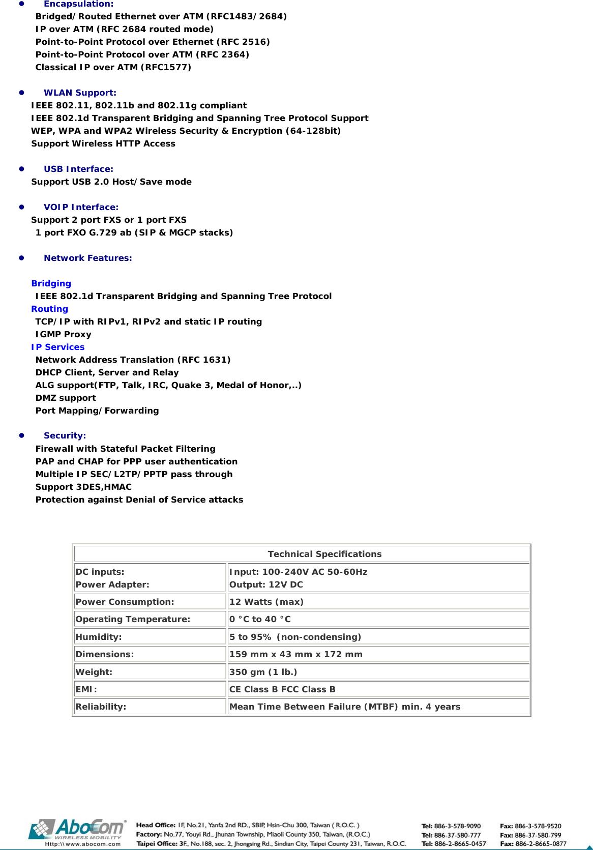 Abocom AIV 422 User Manual To The Bdf37eba 8328 425d 8284