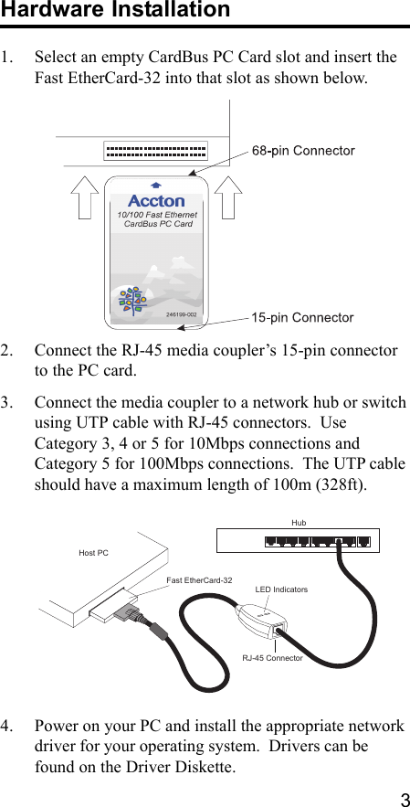 Accton EN2220 Fast Ethernet Drivers Download Free
