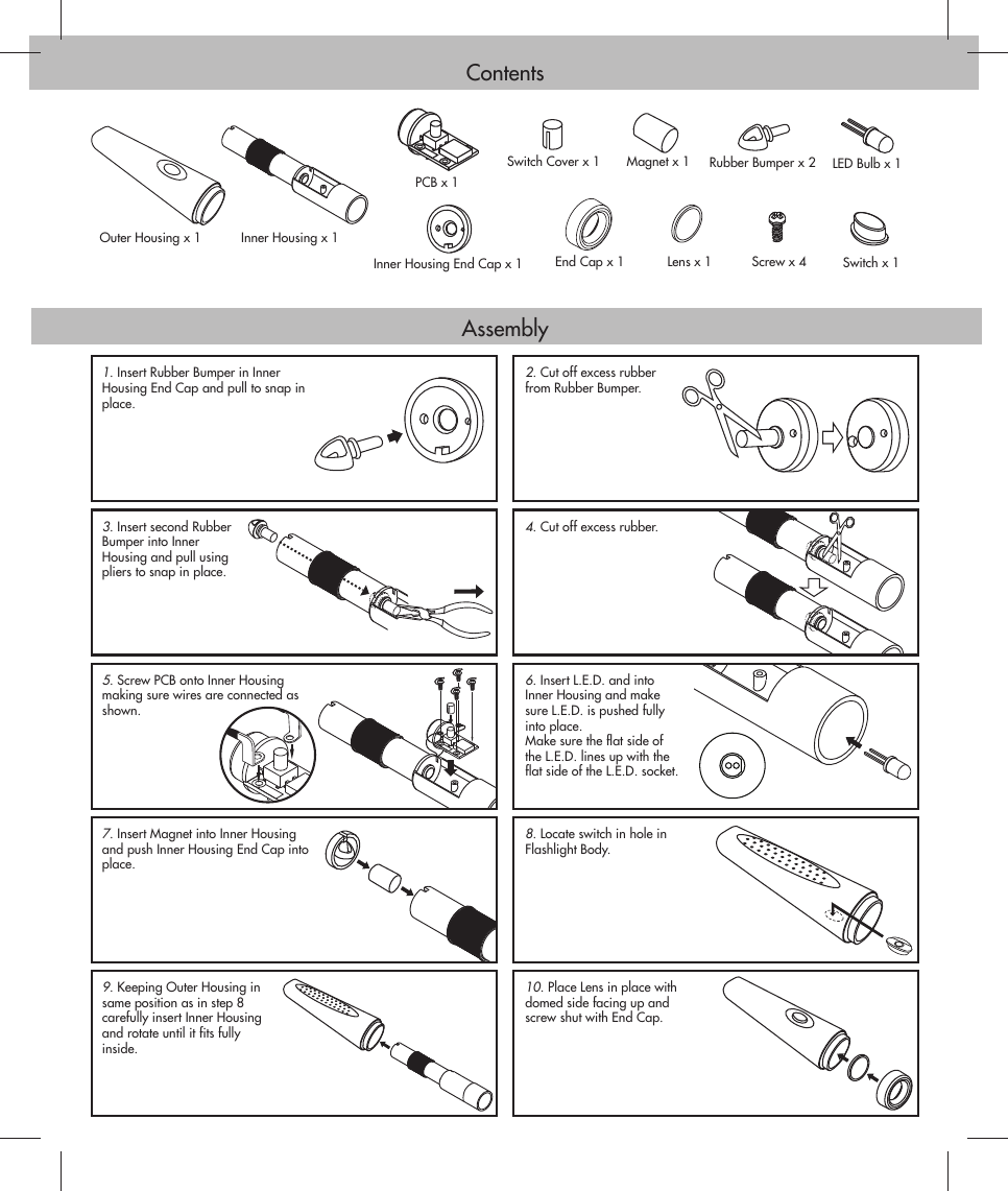 Acdelco Lg08 Users Manual Lg05 3 Wire Wiring Page 2 Of