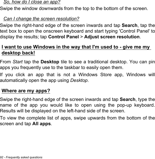 Acer UM_EA40HW_CX_Touch_EN Manual User 1 0 A
