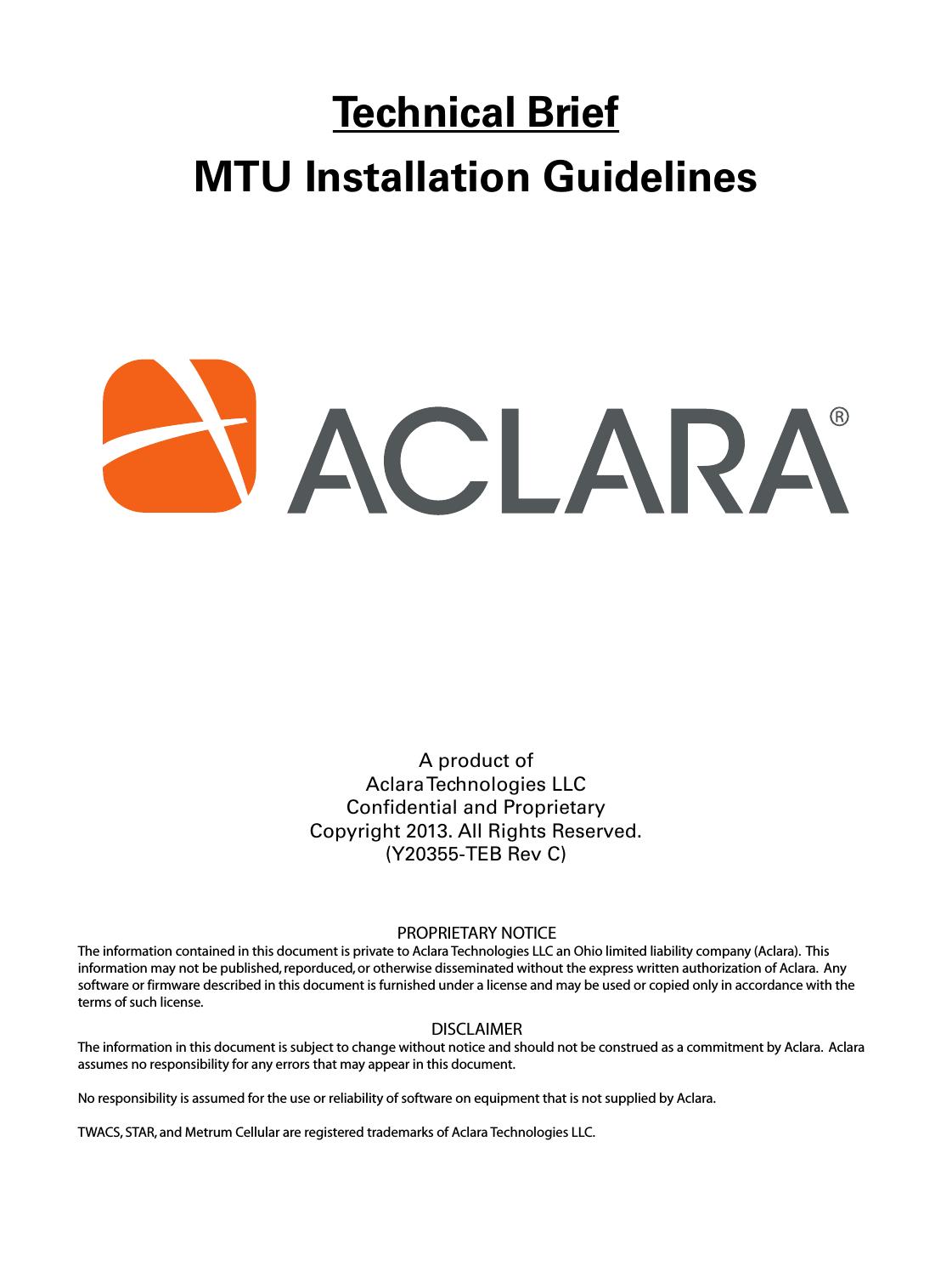 aclara technologies 2015002 llb2015002 user manual mtu installation rh usermanual wiki United States Stove Company Icon Guideline Manual