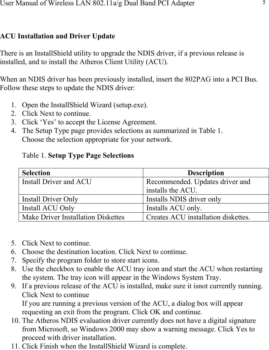 Actiontec Electronics 802pag 802 11g 802 11a  G Wlan Dual