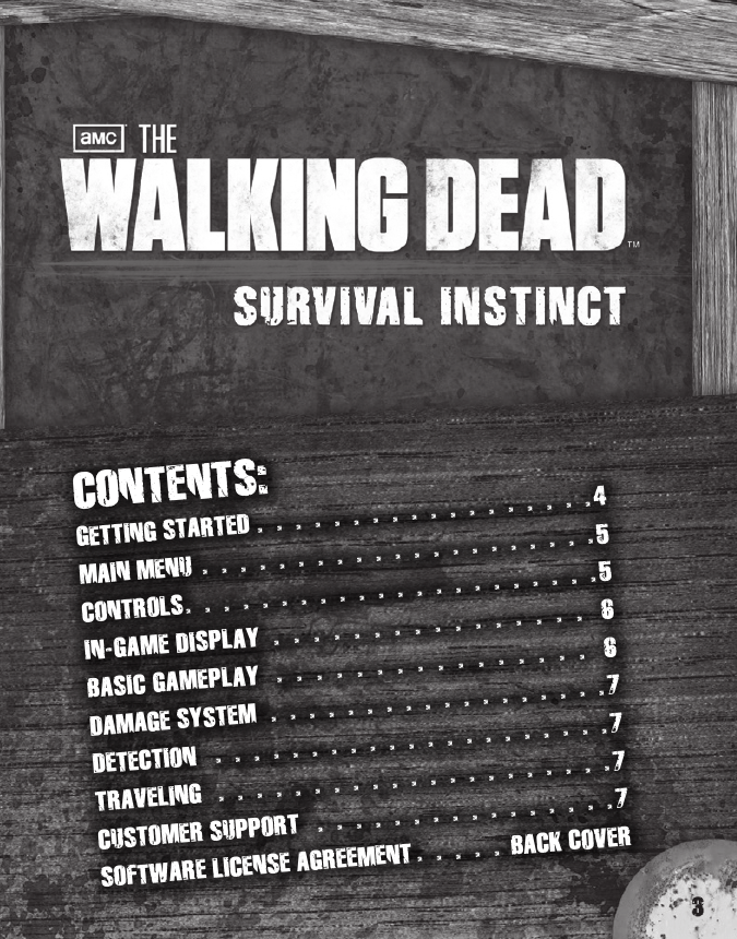 activision the walking dead survival instinct 47875769953 users manual rh usermanual wiki Online User Guide Online User Guide