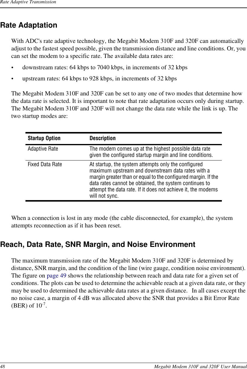 Adc Megabit Modem 310F Users Manual And 320F User