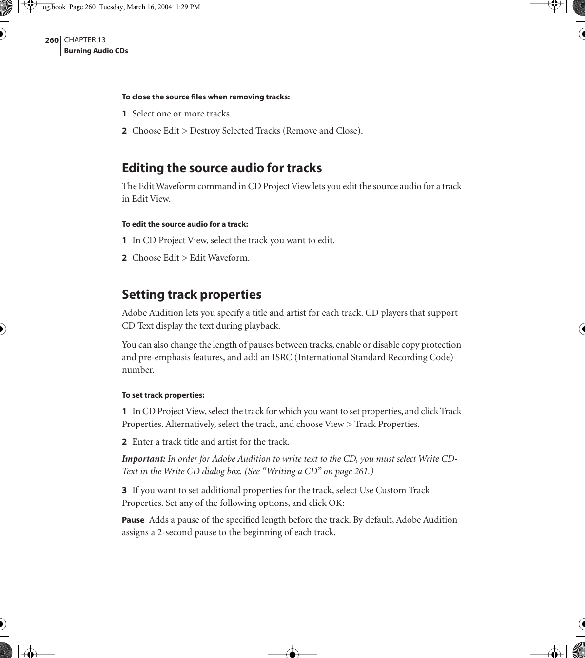 Adobe Audition 1 5 Users Manual 1 5 User Guide