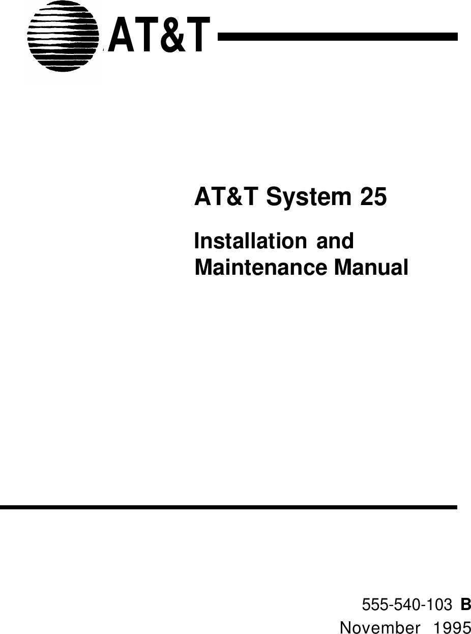 Adtran 25 Users Manual on