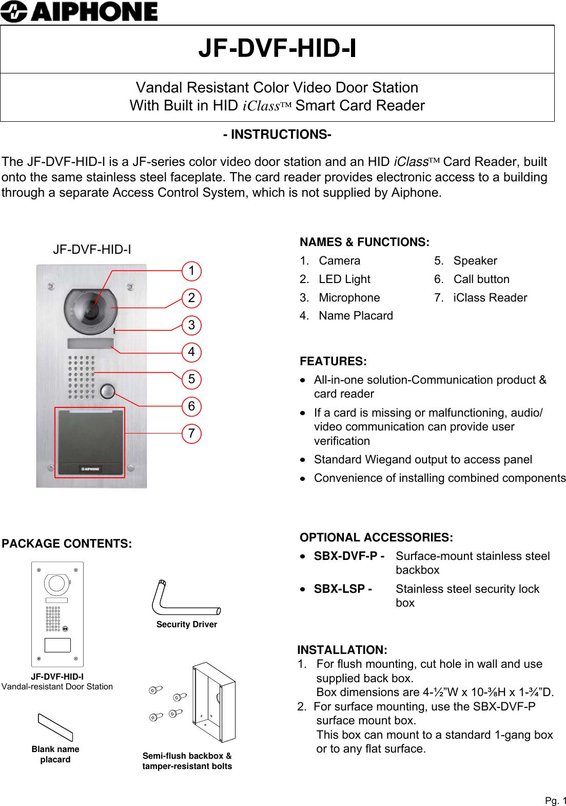 Dimension D Un Placard Standard aiphone jf dvf hid i users manual visio instr