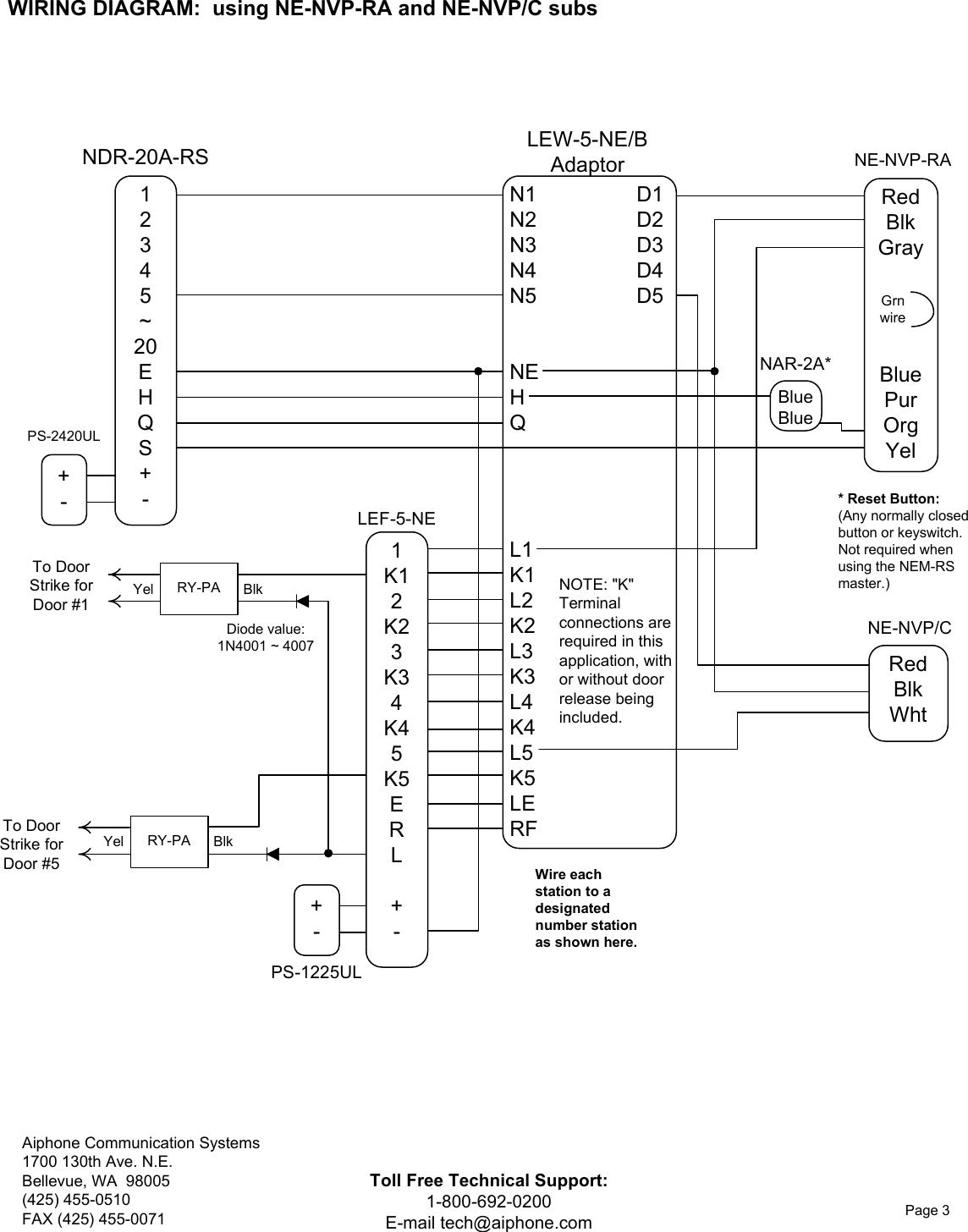 aiphone lef 5 ne users manual visio type b (new)  usermanual.wiki
