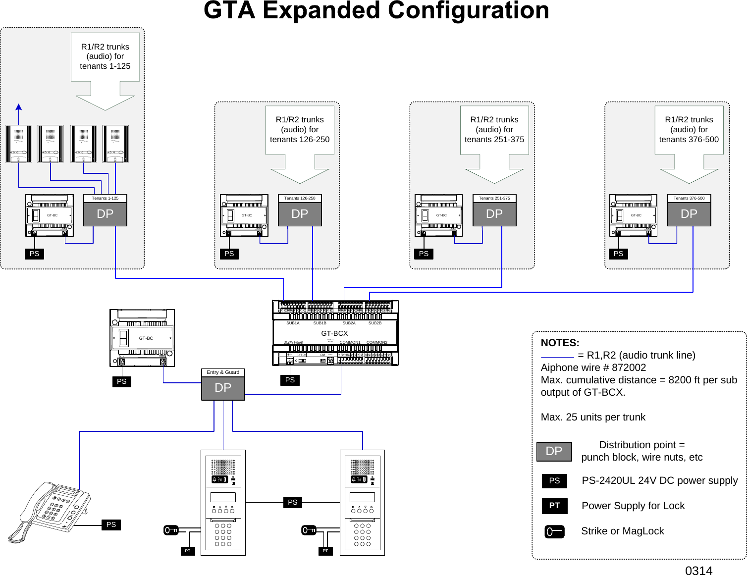 aiphone visio gta expanded wiring diagram configuration. Black Bedroom Furniture Sets. Home Design Ideas