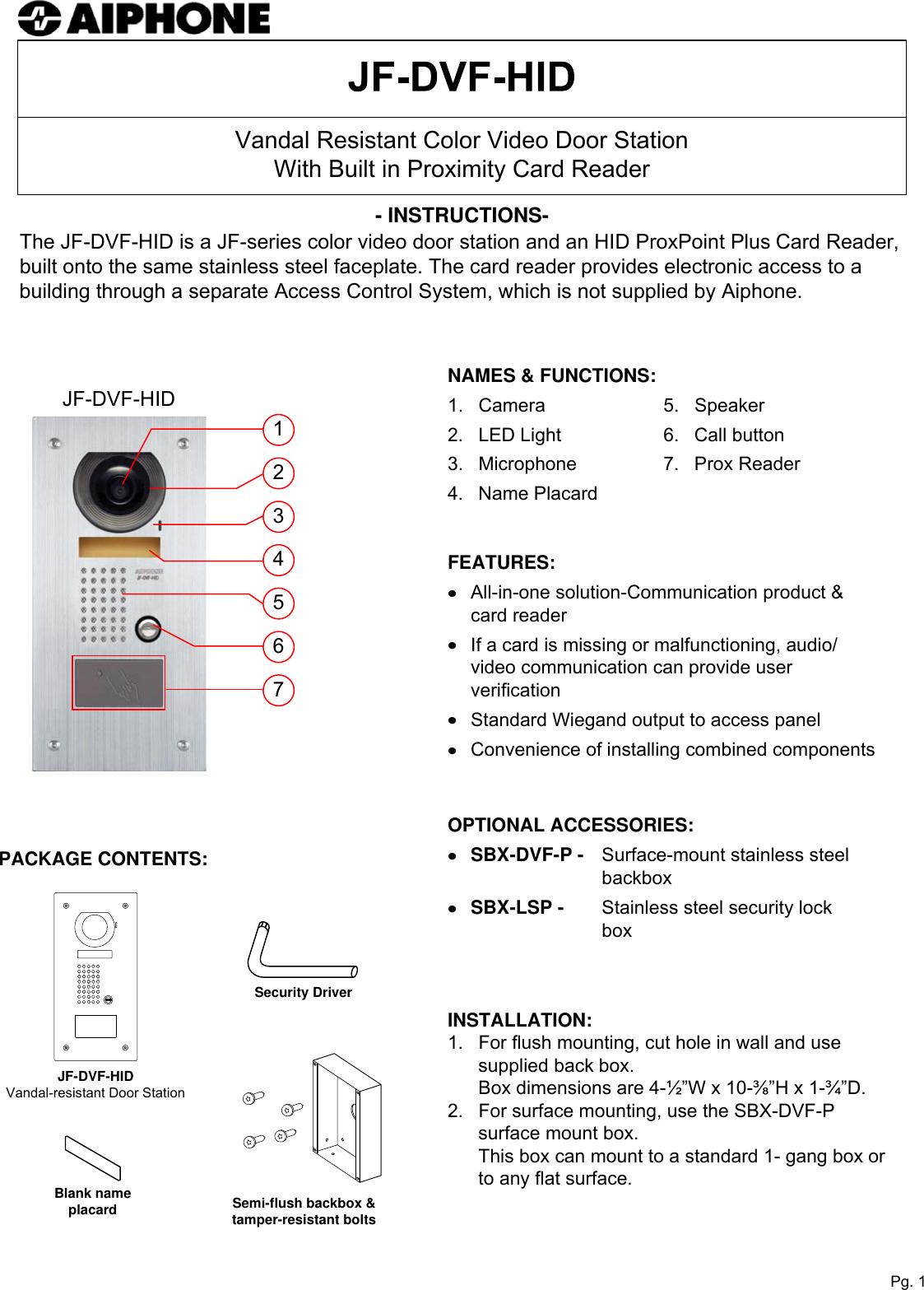 Dimension D Un Placard Standard aiphone jf dvf hid visio instr user manual to the 643ebc39