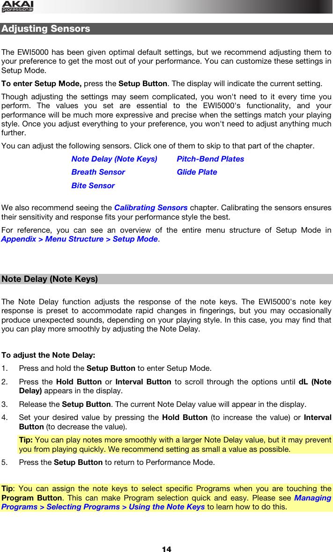 Akai EWI5000 User Guide Manual To The 42e62b18 3032 4ace