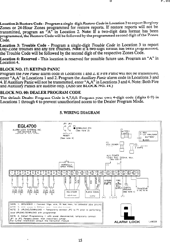 Alarm Lock EGL4700_PROG_SHT Eagle 4700 Programming Sheets For ... on alarm wiring circuit, 4 wire proximity diagram, alarm horn, alarm circuit diagram, alarm installation diagram, vehicle alarm system diagram, fire suppression diagram, alarm switch diagram, alarm panel wiring, alarm wiring guide, car alarm diagram, prox switch diagram, alarm wiring symbols, alarm cable, alarm valve, alarm wiring tools,