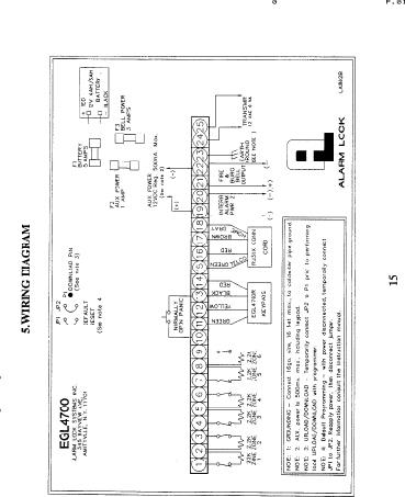 Alarm Lock Egl4700 Wiring Diag Eagle 4700 Wiring Diagram Egl4700 Diag