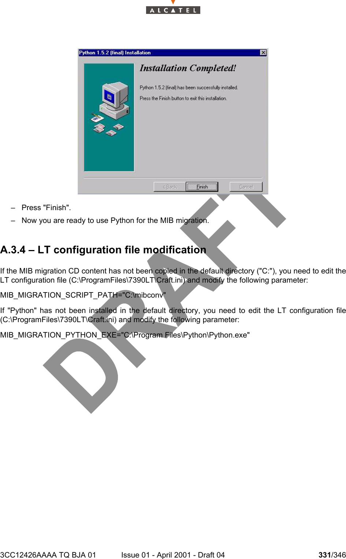 Alcatel Canada 39T28A03A22A Alcatel 7390 LMDS Multiservice Broadband