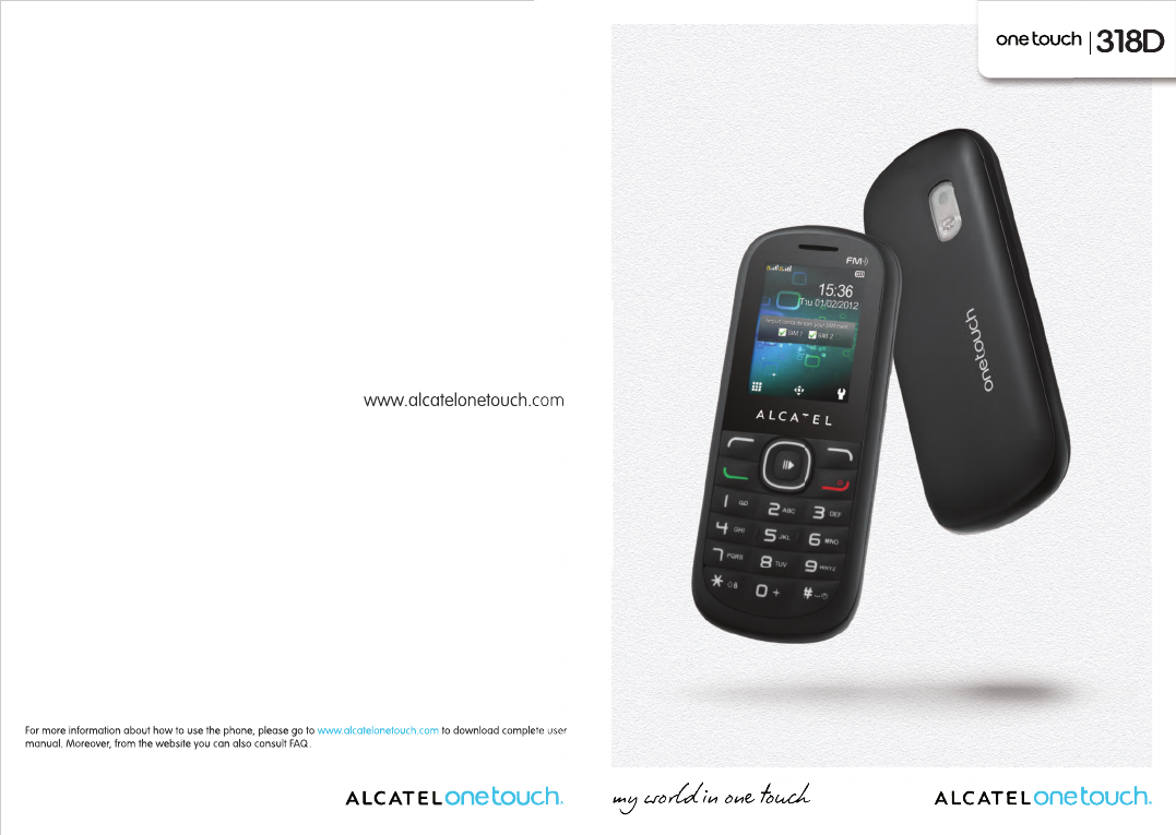 Alcatel Onetouch One Touch 318D Owners Manual 670_UM_USA_30
