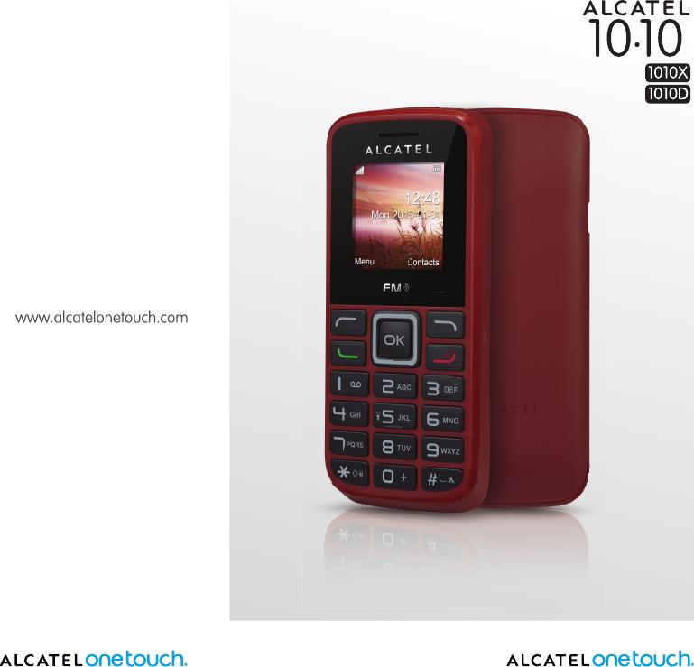 Alcatel 1010D Users Manual IP4698_1010X_1010D_UM_Eng_GB_08_130702