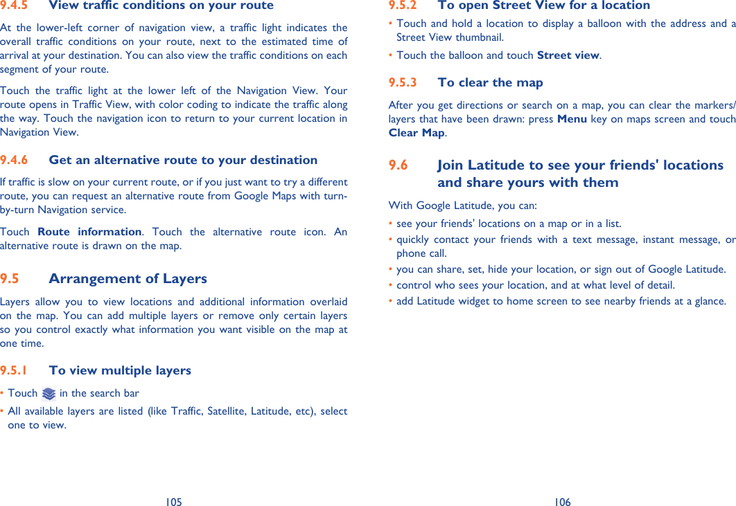 Alcatel 995A Instruction Manual