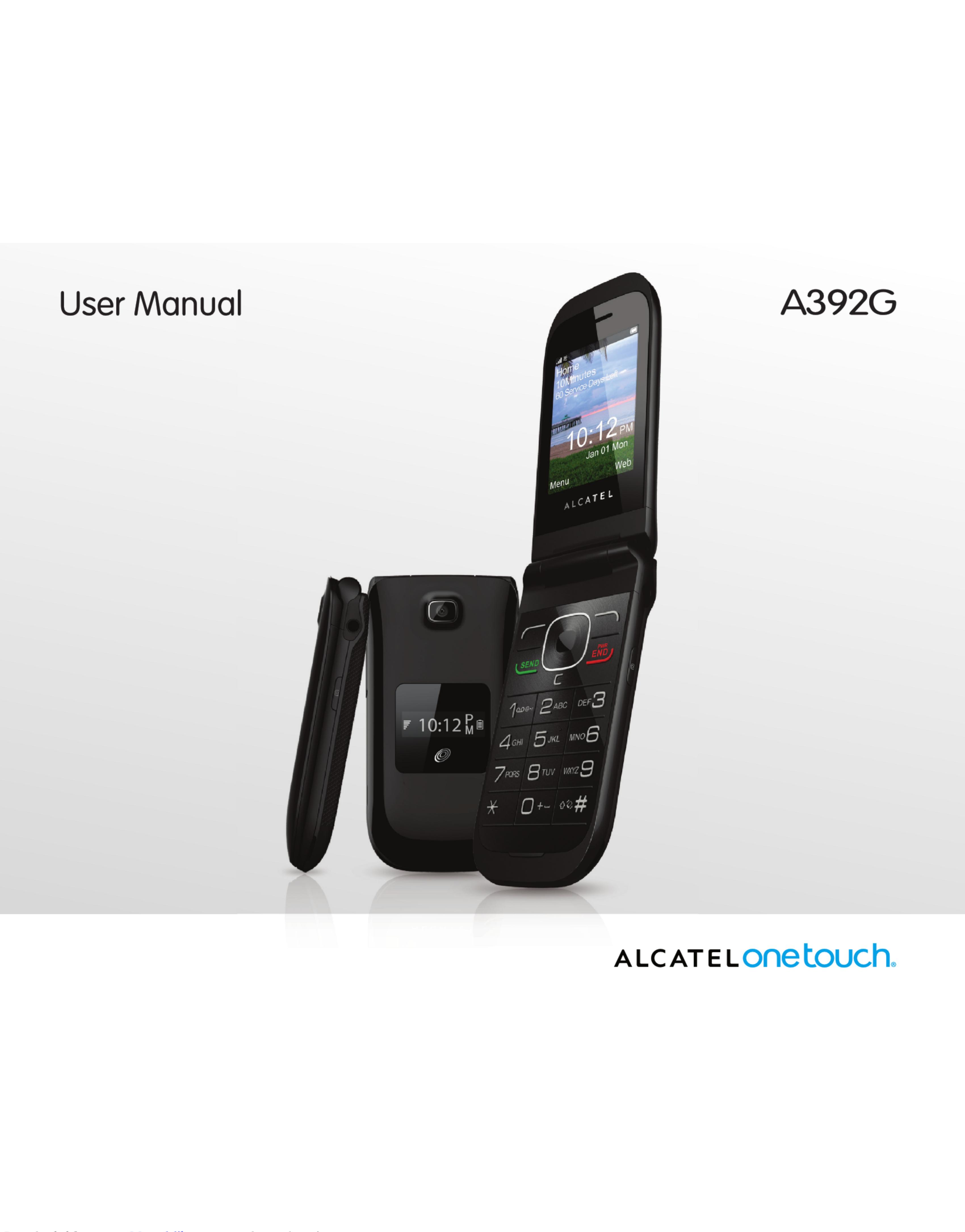 Alcatel A392G User Manual 1003028