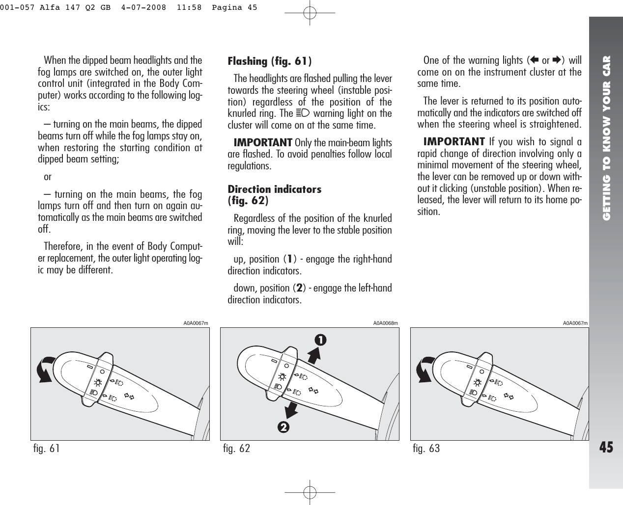 Alfa Romeo 147 Wiring Service Manual