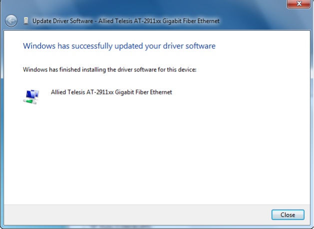 Allied Telesis AT-2911xx Gigabit Copper Ethernet Download Driver