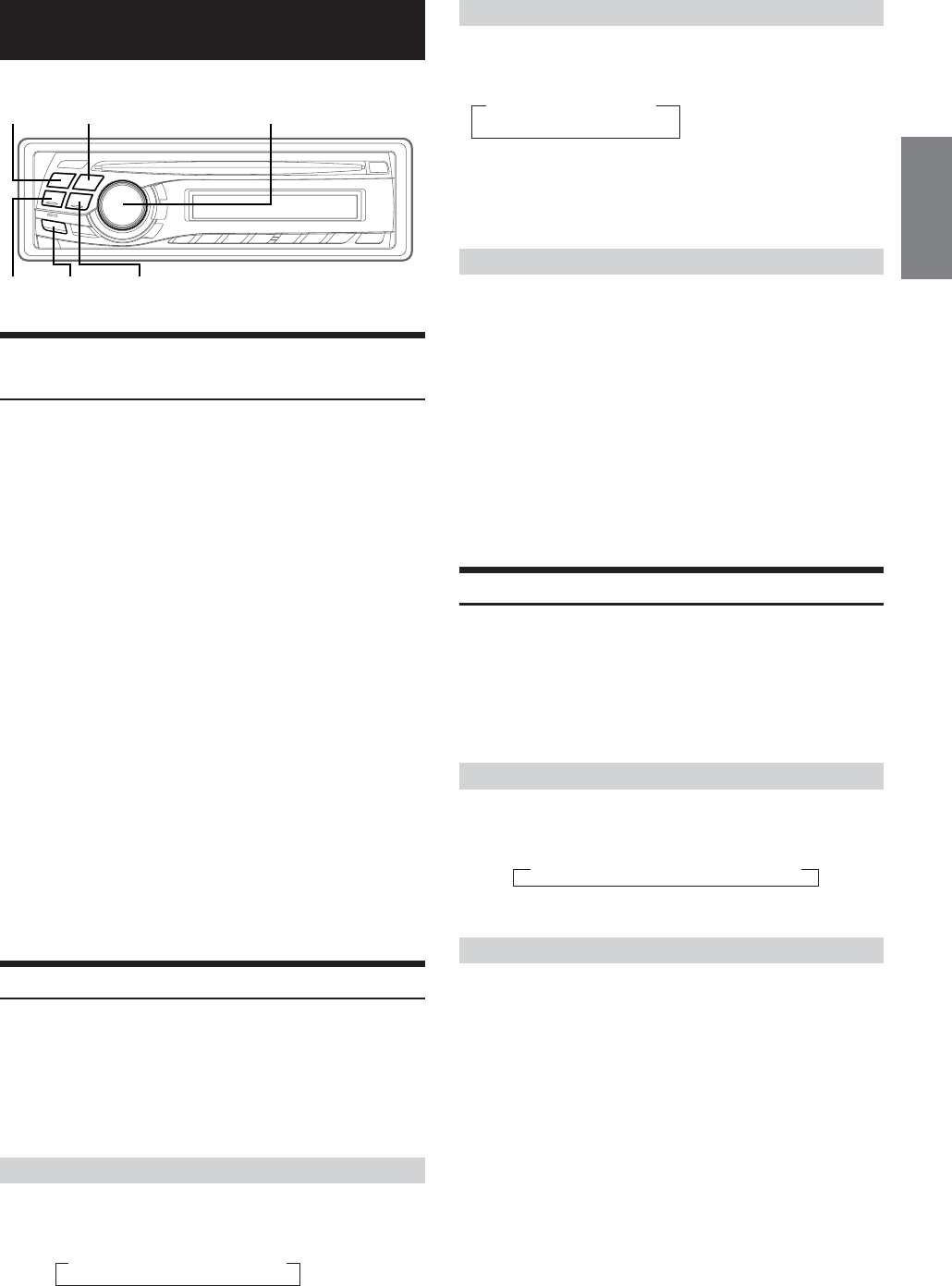 Alpine Cda 9847 Users Manual Ip Fuse Panelcar Wiring Diagram 13 En
