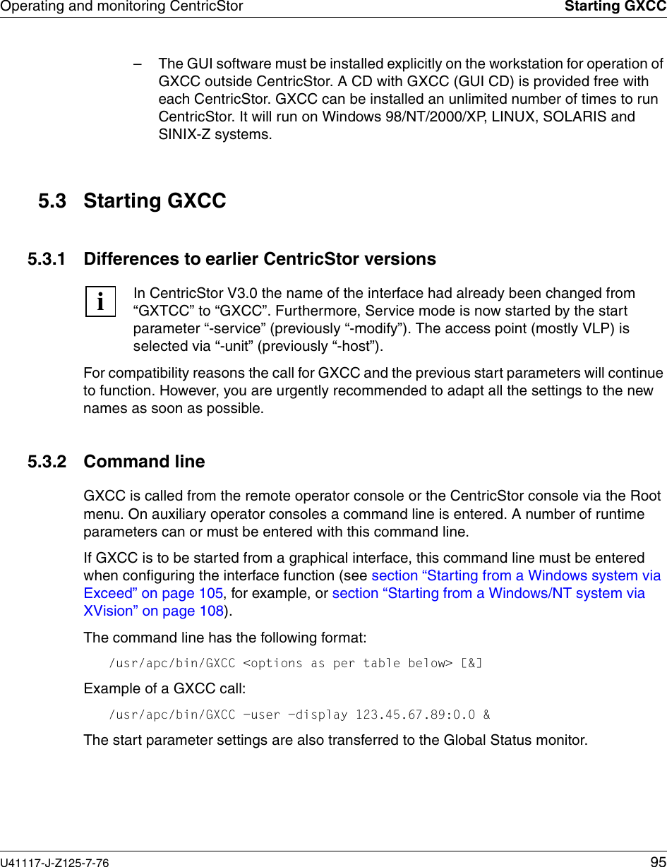 Alpine Centricstor V3 1D Users Manual V3 1D User Guide