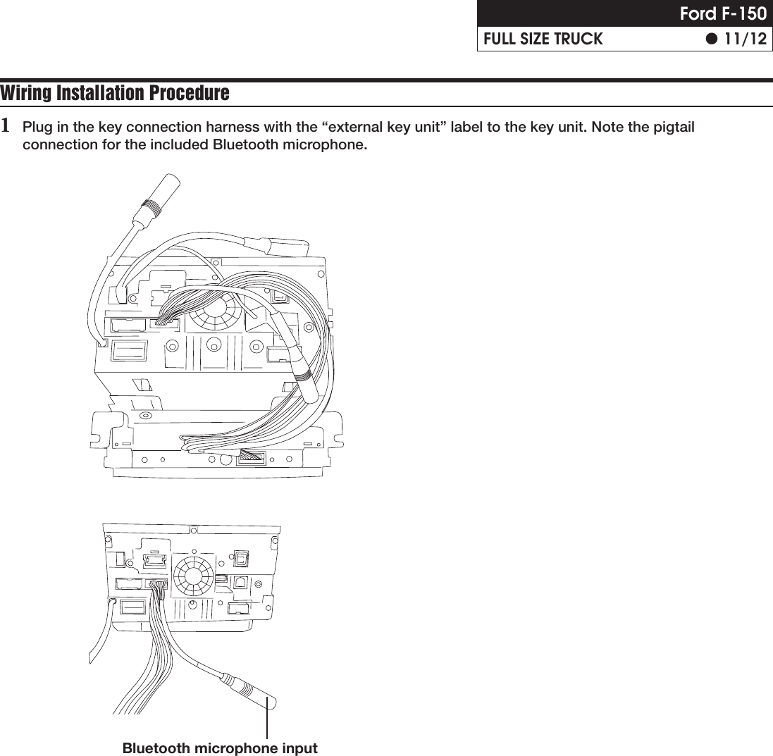 Alpine X009 Fd1 Installation Manual Speaker Wire Diagram F 150 Fx2 2011 Page 11 Of 12