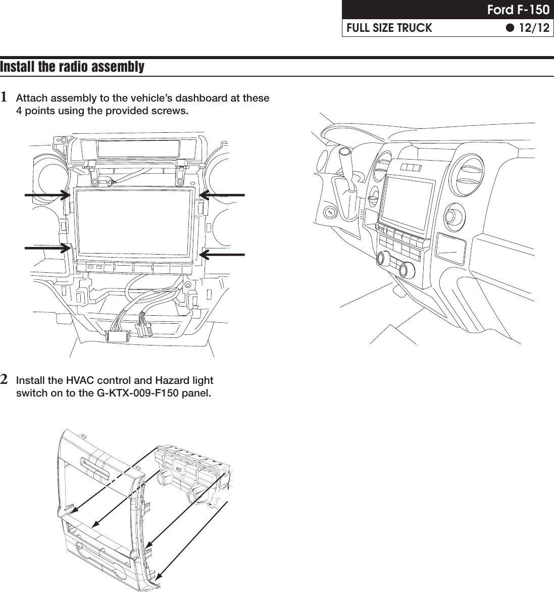 Alpine X009 Fd1 Installation Manual Car Audio Wiring Diagram F 150 Page 12 Of