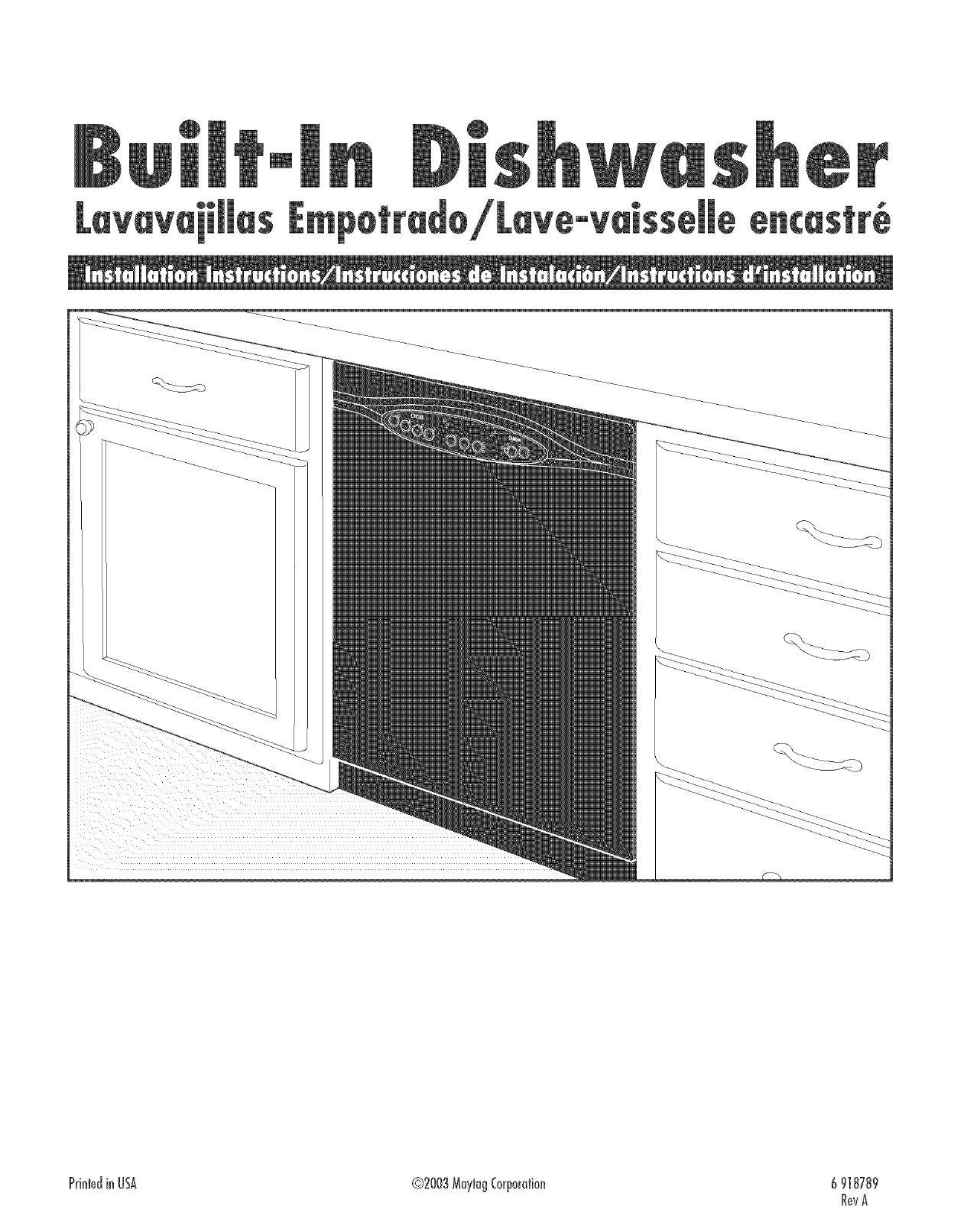 Amana Dishwasher Wiring Diagram