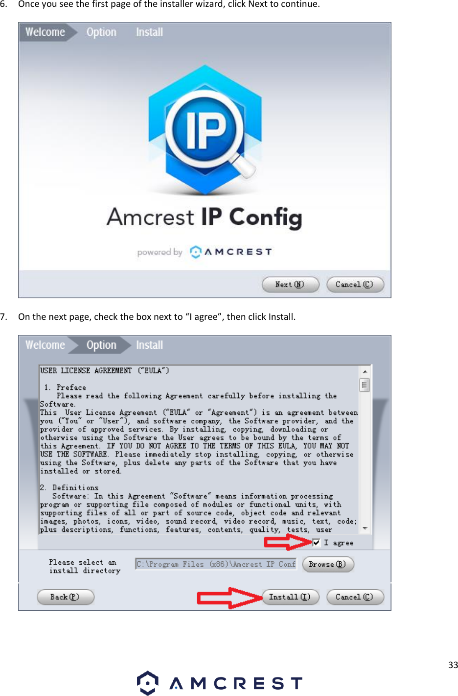 Amcrest Technologies AMC016 960P/1 3MP Fixed Wireless IP
