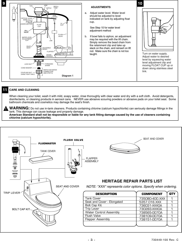 american standard heritage elongated one piece toilet 2071 016 userspage 3 of 4 american standard american standard heritage elongated