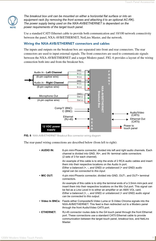Wiring Diagram Cat5 Av B